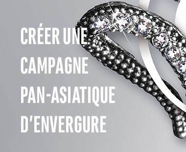 Créer une campagne Pan-Asiatique d'envergure